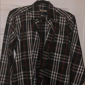 Mens Burberry shirt